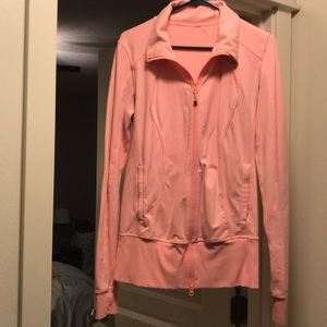 Pink Lululemon Zip Jacket